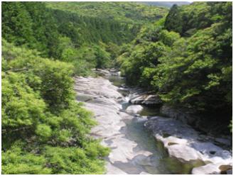 아유모도시 공원 내 계곡.jpg