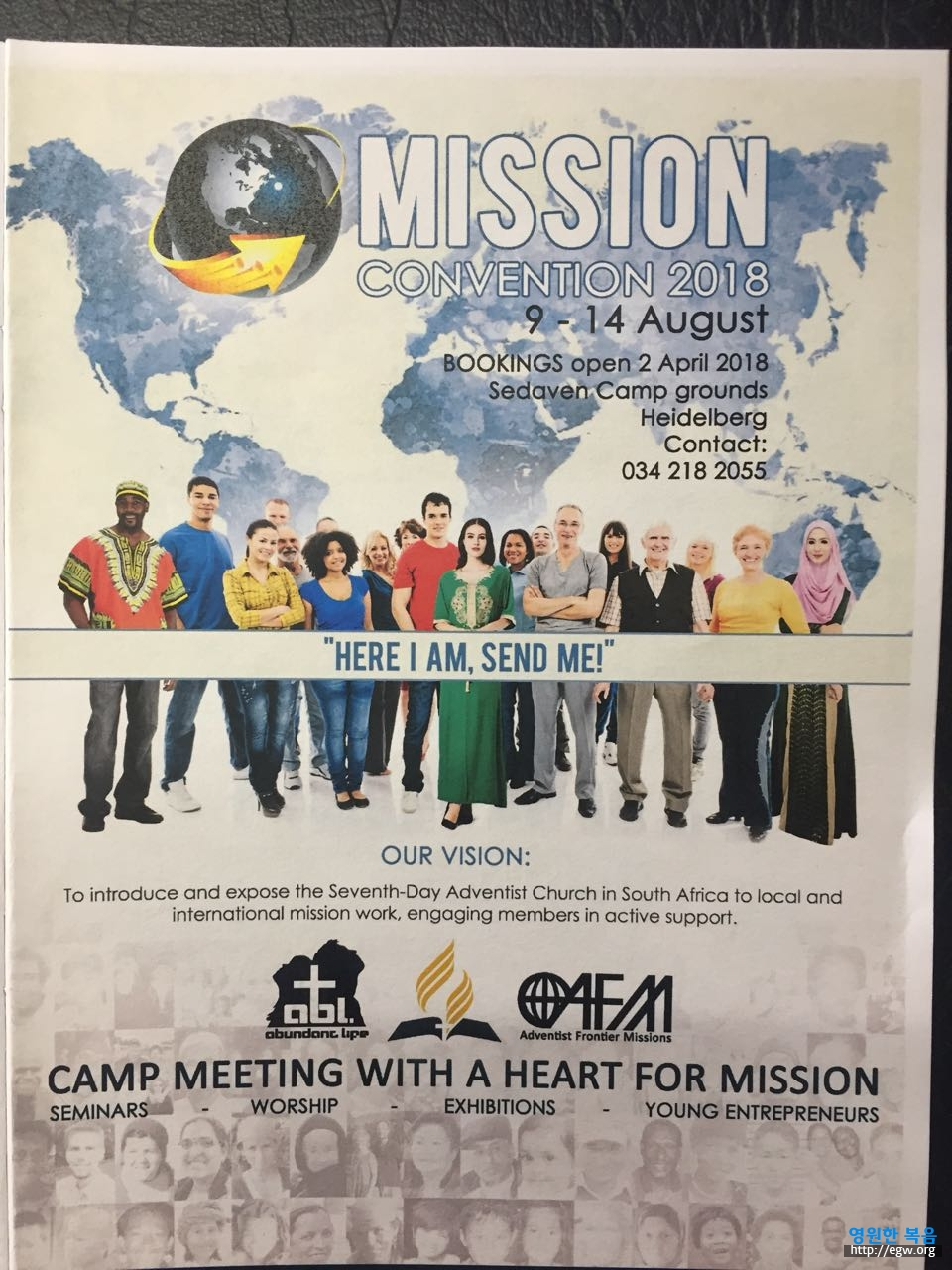 Mission Convention 2018 the 9th to 14th of August Heidelberg South Africa.jpg